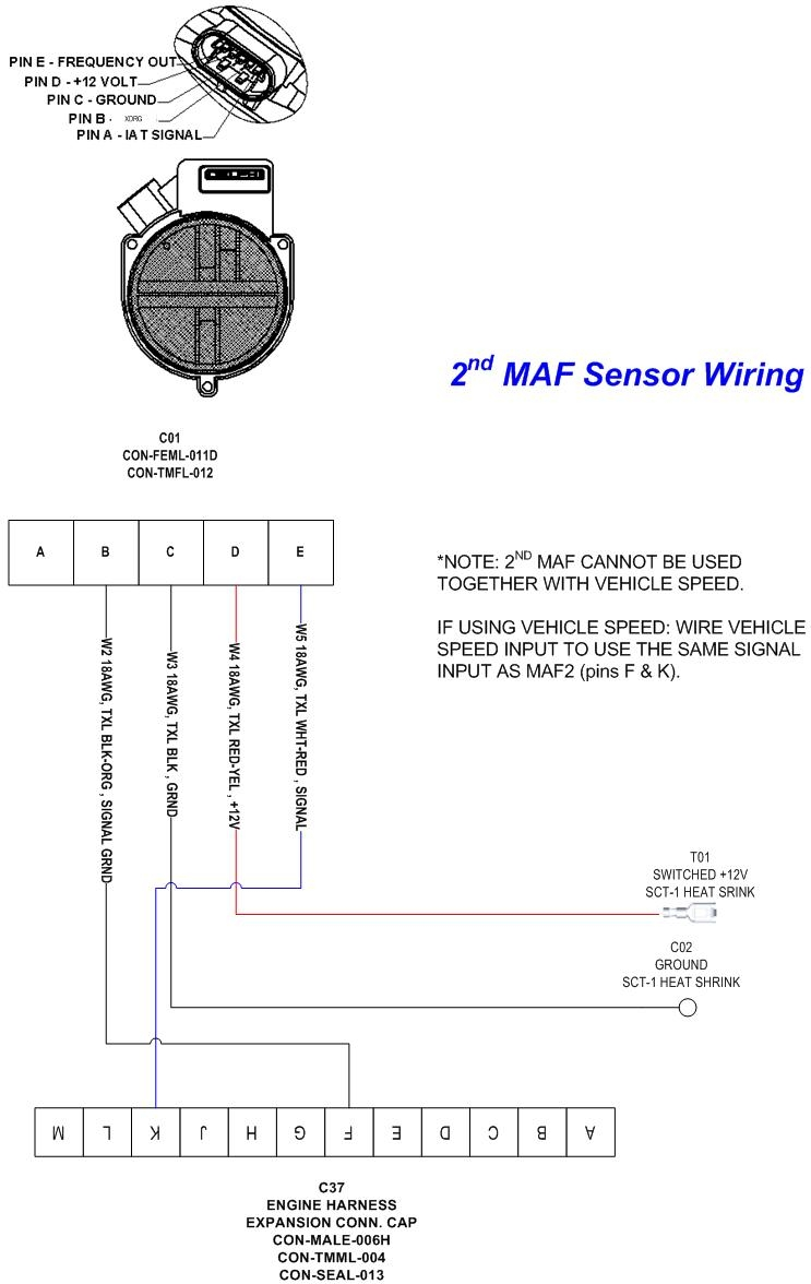 Maf Sensor Wiring Diagram | Wiring Diagram on